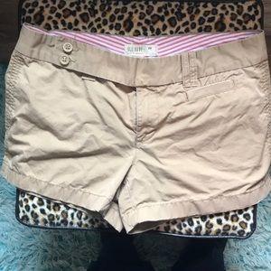 Old navy khaki ladies shorts